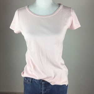 Nordstrom Pink T Shirt Small EUC